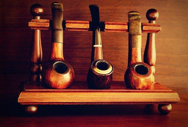 dřevěné dýmky